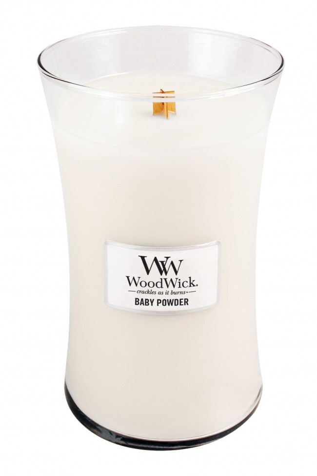 Woodwick 22oz Large Scented Candle Jar With Wood Lid