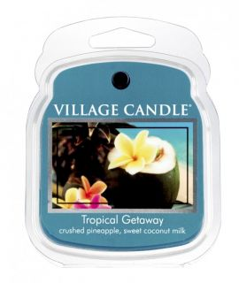 Village Candle Wax Melt Packs For Use with Melt Tart & Oil Burners Tropical Getaway