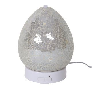 Aroma Mosaic LED Ultrasonic Electric Oil Diffuser Aromatherapy Clear Lustre