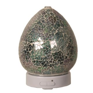 Aroma Mosaic LED Ultrasonic Electric Oil Diffuser Aromatherapy Blue Crackle