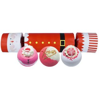 Bomb Cosmetics Bath Blaster Cracker Christmas Gift Pack Set Father Christmas