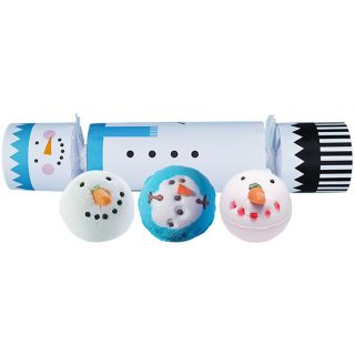 Bomb Bath Blaster Cracker Christmas Gift Pack Set Frosty the Snowman