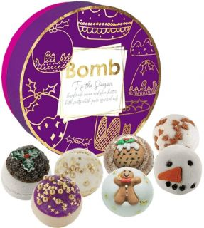 Bomb Cosmetics Creamer Handmade Fragranced Gift Pack 'Tis the Season