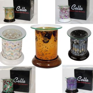 Cello Flame & Fragrance Straight Electric Wax Melt Burner
