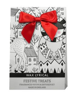 Wax Lyrical Baby It's Cold Outside Festive Treats Diffuser & Votive Gift Bag