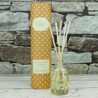 The Country Candle Company Superstars 100ml Reed Diffuser Gift Set Frankincense & Myrrh