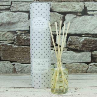 The Country Candle Company Superstars 100ml Reed Diffuser Gift Set Mountain Breeze