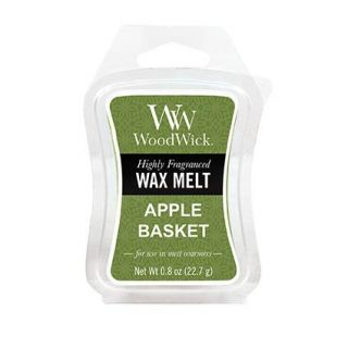 WoodWick Scented Mini Hourglass Wax Melt Apple Basket