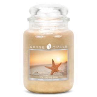 Goose Creek 24oz Large Scented 2 Wick Candle Jar Day In The Sun