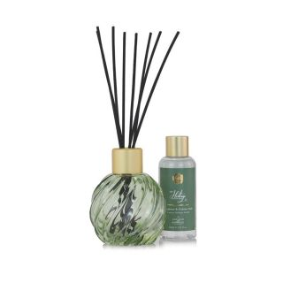 Ashleigh & Burwood Heritage Scented Reed Diffuser Gift Set Diffuser-Green - Bergamot & Golden Oud