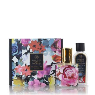 Ashleigh & Burwood Design Anthology Oil Lamp Home Gift Set Diffuser-In Bloom - Tayberry & Rose