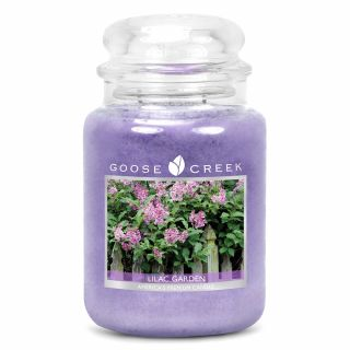 Goose Creek 24oz Large Scented 2 Wick Candle Jar Lilac Garden