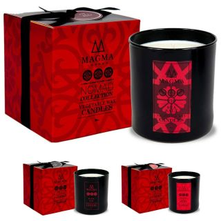 Magma Nomad Collection Luxury Scented Soy Candle