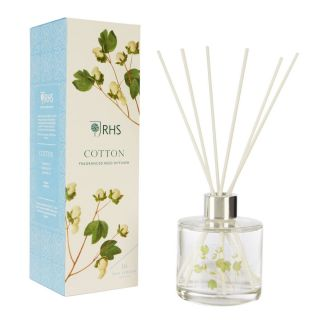 Wax Lyrical RHS Fragrant Garden 180ml Reed Diffuser Cotton