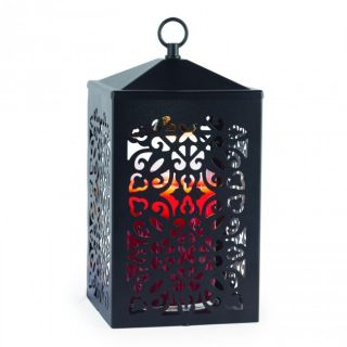 Candle Warmers Scroll Lantern Lamps Black