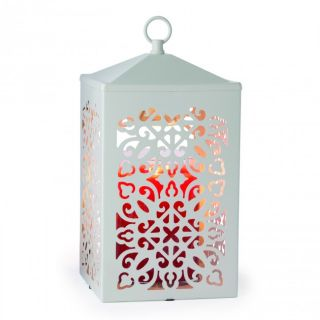 Candle Warmers Scroll Lantern Lamps White