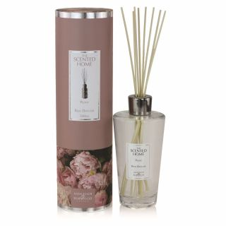 Ashleigh & Burwood Scented Home 500ml Reed Diffuser Gift Set Peony