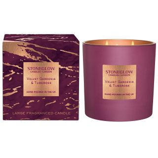 Stoneglow Candles Luna Luxury Scented 3 Wick Candle