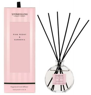 Stoneglow Candles Modern Classics Scented Reed Diffuser Pink Peony & Gardenia