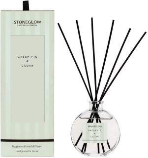Stoneglow Candles Modern Classics Scented Reed Diffuser Green Fig & Cedar