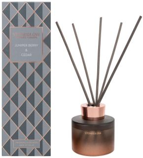 Stoneglow Candles Seasonal Collection Scented Reed Diffuser Juniper Berry & Cedar