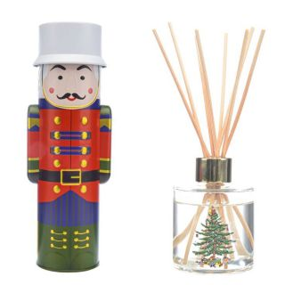Wax Lyrical Spode Christmas Tree 140ml Fragranced Reed Diffuser Noel