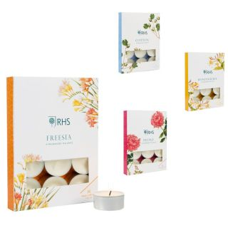 Wax Lyrical RHS Fragranced Tealights 12 Pack