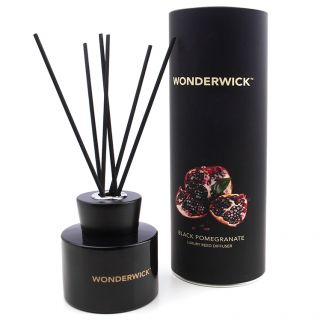 Country Candle Company Wonderwick 150ml Noir Reed Diffuser Black Pomegranate