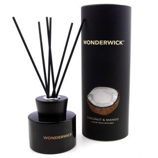 Country Candle Company Wonderwick 150ml Reed Diffuser Gift Set Coconut & Mango