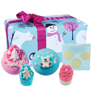 Bomb Cosmetics Bath Blasters Christmas Handmade Fragranced Gift Pack Worth Melting For