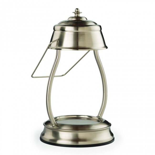 Candle Warmers Hurricane Lantern Lamp Metallic Collection