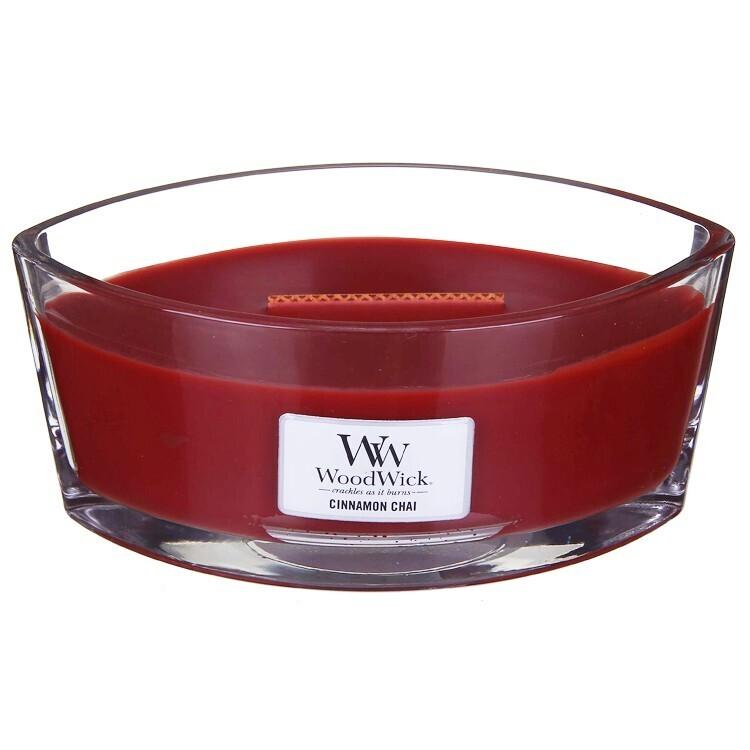 Brown Glass Camdle Jar