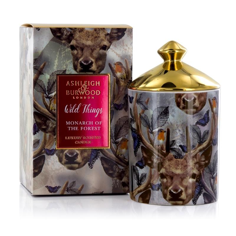 Ashleigh-amp-Burwood-Wild-Things-DE-LUJO-Aromatico-Regalo-en-caja-vela