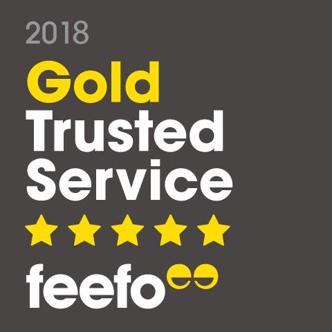 Feefo Golf Trusted Service 2018